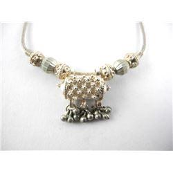 Estate 925 Silver Handmade Necklace