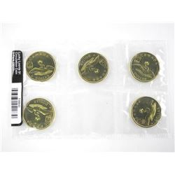 2012 Lucky Loonie 1.00 Pack of 5