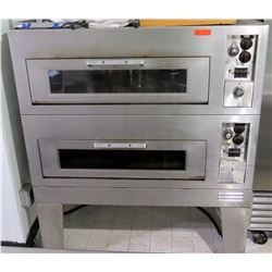 Industrial 2 Tier Pizza Baking Commercial Oven