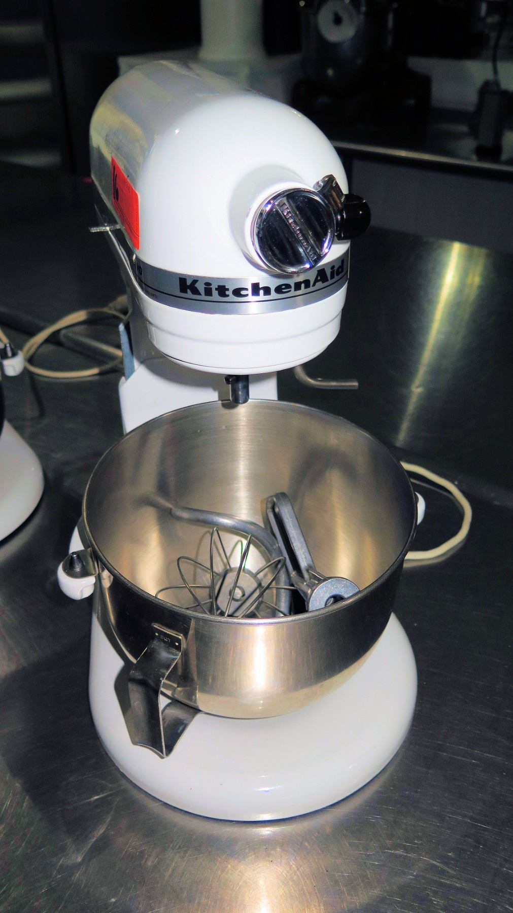 Kitchenaid Professional Hd White Commercial Mixer