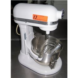KitchenAid Professional HD White Commercial Mixer & Attachments