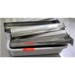 Multiple Misc Matfer Stainless Steel Tube Pans