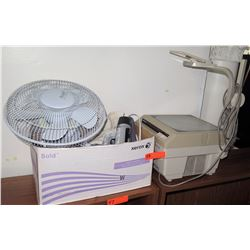 Apollo Overhead Projector, Accutek Fan & Misc Accessories