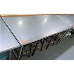 "Steel Working Prep Table, 72""L x 29.5""W x 36""H"