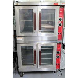 Vulcan Model EC06D Electric Double Stack Convection Oven w/ Controls
