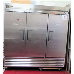 True Model T-72 3-Door Refrigerator