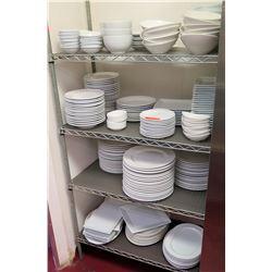 Huge Misc Dish Assortment - Plates, Bowls, Serving Platters, etc