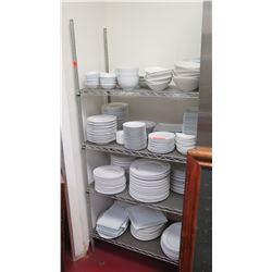 """Metal Shelf 35.5""""L x 18""""W x 75""""H"""