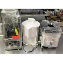 Qty 3 Kitchen Appliances - Ice Cream Maker, Ninja Ultima Blender, Coffee Maker