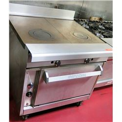 """Imperial Commercial Oven w/ Grill Griddle Range, 36""""W x 34""""D x 36.5""""H"""