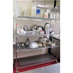 Metro Super Erecta Large Metal Shelving Unit w/ Wheels, 60 L x 24 W x 79 H