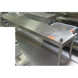 Long Metal Shelving Unit, 60 L x 12 W x 12 H