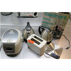 Cuisinart Food Processor, Toaster, Scale, Coffee Carafes, etc