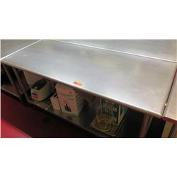 "Steel Working Prep Table, 71.5""L x 30""W x 35.5""H"