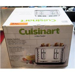 Cuisinart 4 Slice Toaster Model #1140772 in Box