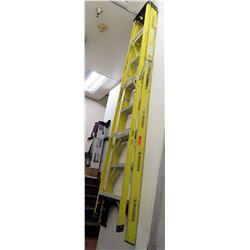 Husky Tall Yellow Ladder