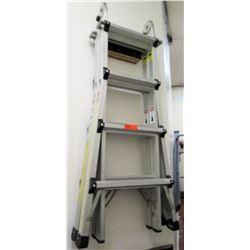World's Greatest Multi Use Adjustable Ladder System