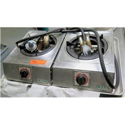 Qty 2 WING Single Countertop Hot Plate