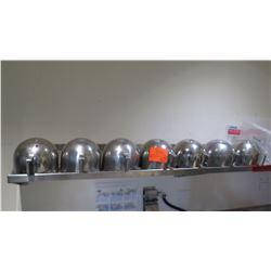 Qty 7 Mixing Bowls