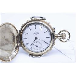 Elgin size 6 pocket watch 7 jewel grade 117, serial # 6032436 dates this watch to 1896, 3/4 gilt pla