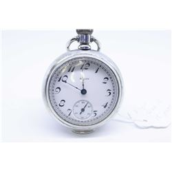 Elgin size 18 pocket watch,15 jewel, serial # 11347915, grade 326, this watch dates to 1905. Full gi