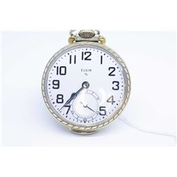Elgin 16 size pocket watch, 15 jewel model 20 grade 575, serial #V591088 dates this watch to 1949, 3
