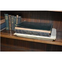 Nineteen vintage and antique books including sheet music, poetry books etc.