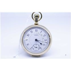 Elgin size 18 pocket watch, 17 jewel G.M Wheeler grade 148 model 5, serial # 8262360 and dating to 1