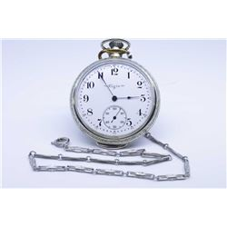 Elgin size 16 pocket watch, 17 jewel grade 244 model 7, serial # 10565488 dates this watch to 1904,