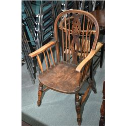 Antique Windsor arm chair