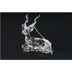"Swarovski crystal Kudu figure from the Inspiration Africa series, 5"" in height with original box"