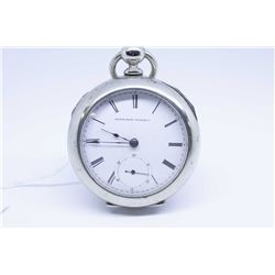 Elgin size 18, 7 jewel pocket watch, grade 7 model 1, serial # 1803281 dates this watch to 1885, ful