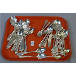 Selection of sterling flatware, various makers and patterns