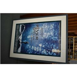 "Framed ""A River Runs Through It"" movie poster"