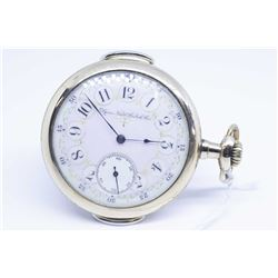 Elgin size 16, 7 jewel pocket watch with grade 151, model 6, serial # 6566045 dates this watch to 18