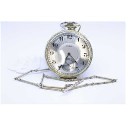 Elgin size 12, 17 jewel pocket watch, grade 345, model 3 serial # 26054098 dates this watch to 1923,