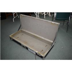 """Large instrument road case, outside dimensions 52"""" X 20 1/2"""" X 9"""""""