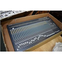 Beheringer Model Eurodesk MX 3282A, 32 channel 8-Bus recording/live mixer, note no power supply