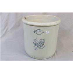 Western Stoneware Company six gallon crock