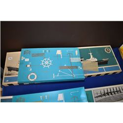 Unassembled ship model kit of Zwarte Zee made by VHT Billings Boat, Denmark with accessory kit