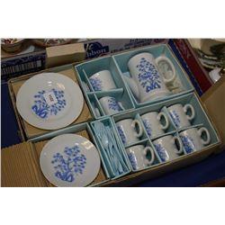 Japanese made miniature coffee set in original box