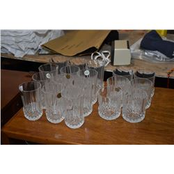 Crystal D'Arques stemware Large selection of Crystal D'Arques stemware including wine glasses, champ