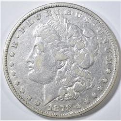 1878 8TF MORGAN DOLLAR  XF/AU