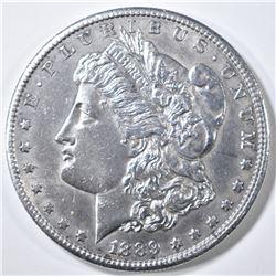 1889-S MORGAN DOLLAR  BU  CLEANED