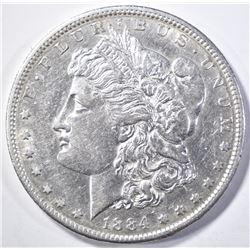 1884-S MORGAN DOLLAR AU/BU