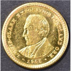 1905 LEWIS & CLARK GOLD GEM BU