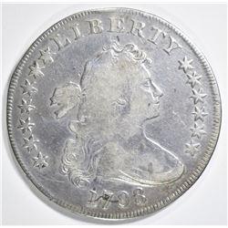1798 BUST DOLLAR  VF  LIGHT SCRATCH OBV. 7:00