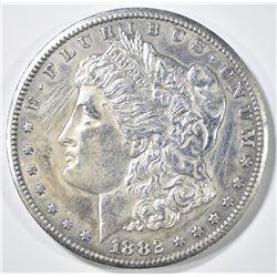 1882-CC MORGAN DOLLAR   AU SCRATCHES