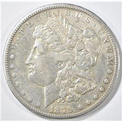 1879-CC MORGAN DOLLAR  XF