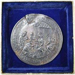 1635 SILVER MEDAL GERMANY DAMAGED